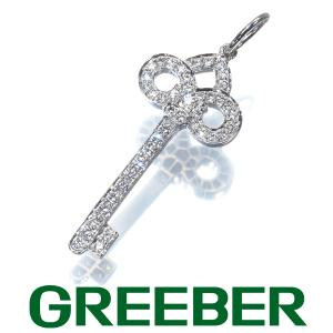 ティファニー ペンダントトップ ダイヤ ダイヤモンド フルールドリスキー Pt950/プラチナ BLJ|greeber01