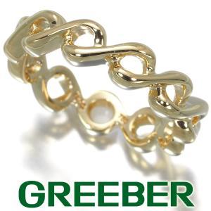 ティファニー リング 指輪 フルエタニティ 8号 K18YG BLJ|greeber01