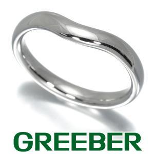 ティファニー リング 指輪 カーブドバンド 15号 Pt950/プラチナ BLJ|greeber01