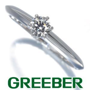 ティファニー リング 指輪 ダイヤ ダイヤモンド 0.23ct ソリティア 11号 Pt950/プラチナ BLJ|greeber01