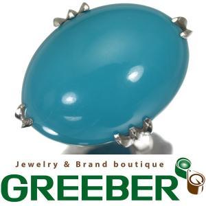 ターコイズ トルコ石 リング 指輪 Pt900/プラチナ ソーティングメモ GENJ|greeber01