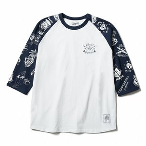 CLUCT 3/4袖Tシャツ greed