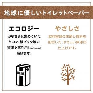 トイレットペーパーまとめ買い☆ ピュアブラウン☆72ロール/ダブルトイレットペーパー|green-consumer-shop|03