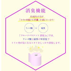 【送料無料】花束 フルーツバスケット ピーチ トイレットペーパー ダブル カラートイレットペーパー 12ロール・8パック入り 2558|green-consumer-shop|04