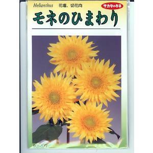 ひまわりの種 サカタのタネ モネのひまわり <サカタのひまわり種子です。種のことならグリーンデポ>|green-depo-1