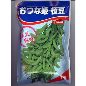 「おつな姫」は、茶豆の風味を持つ枝豆です。 ビールのお供に最高です。 「おつな姫枝豆は、早生品種なの...