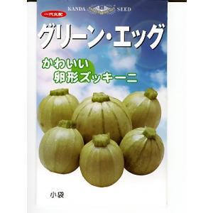 丸型ズッキーニの種 神田育種農場 グリーンエッグ|green-depo-1