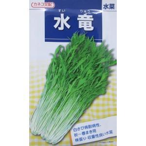 ネコ交配 水竜水菜 カネコ種苗のミズナ品種です。|green-depo-1