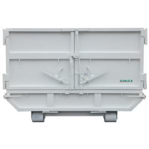 4トン車脱着用8L3枚扉アームロールコンテナ(舟底仕様)|green-eco-kk