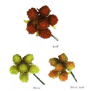ピュアラズベリー<1袋(12本)>花のアレンジメントアイテムに最適♪花の資材