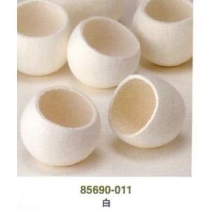 ベルカップ・白(1袋:5個) 自然素材・アレンジメント花材