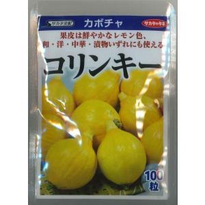 野菜種 かぼちゃ  コリンキー 20ml  サカタのタネ