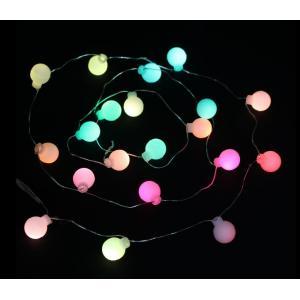 サイズ/全長:180cm 球:φ1.5cm×20個 球間:10cm 材 質/ワイヤー 重 量/80g...