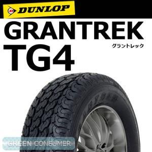ダンロップ グラントレック TG4 145R12 6PR◆SUV/4X4用サマータイヤ greenc