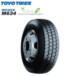 トーヨータイヤ デルベックス M634 195/75R15 109/107L◆DELVEX バン/トラック用サマータイヤ greenc