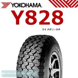 ヨコハマ Y828 145R12 6PR◆バン/トラック用サマータイヤ greenc