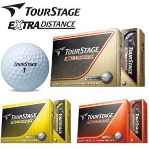 ブリヂストン ツアーステージ EXTRA DISTANCE ゴルフボール(12球入り)