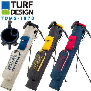 ターフデザイン ミニスタンドバッグ TDMS-1870 TURF DESIGN ゴルフ ゴルフ用品 ...