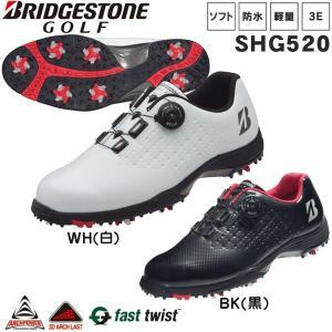 ブリヂストンゴルフ ゴルフシューズ BSGスパイク SHG520