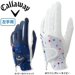 キャロウェイ 左手用 レディース ゴルフグローブ シェブ グ...