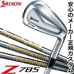 スリクソン Z785 アイアン ダイナミックゴールド 95 /105 / 120 シャフト 5本セッ...