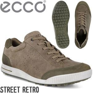 エコー ゴルフ シューズ メンズ ストリート レトロ 150604 ECCO ゴルフシューズ STR...