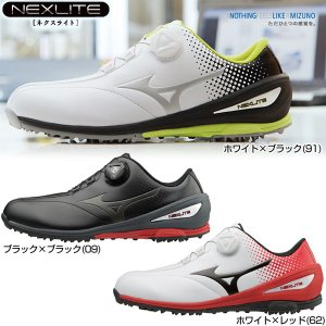 ミズノ ゴルフ ネクスライト NEXLITE 004 Boa...