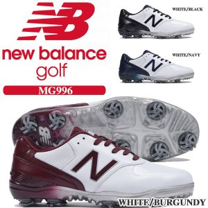 ニューバランス メンズ ゴルフシューズ MG996 ソフトス...