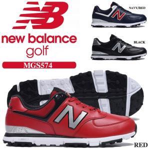 ニューバランス スパイクレス ゴルフシューズ MGS574...