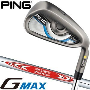 ピン G MAX アイアン N.S. PRO MODUS3 105 スチールシャフト 単品(#4 #5 UW SW)