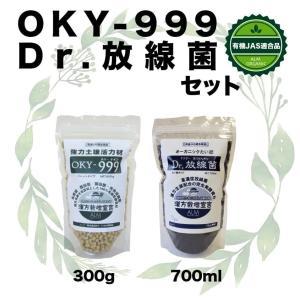 『Dr.放線菌(ドクターホウセンキン)700ml』と『OKY-999(オーケイワイスリーナイン300g』セット|greenfront