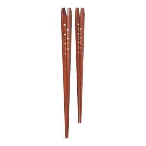 食卓に彩りを添えるおしゃれなお箸です。ペアでお使い頂けます!