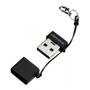 メーカー直販 microSD用の超小型USBカードリーダ/ライタ GH-CRMR-MMK ブラック   カードリーダー usb2.0 usb グリーンハウス greenhouse-store