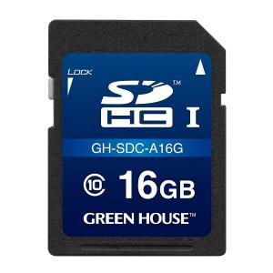 ドラレコ対応 16GBドライブレコーダー向けSDHCカード GH-SDC-A16G グリーンハウス|greenhouse-store