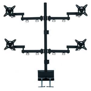 ・4つのディスプレイを取り付けられる、4アームモデル ・このアーム以外に2つのディスプレイを取り付け...