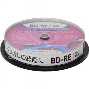 くり返し録画用BD-REメディア 10枚スピンドル GH-BDRE25B10 RITEK グリーンハウス greenhouse-store