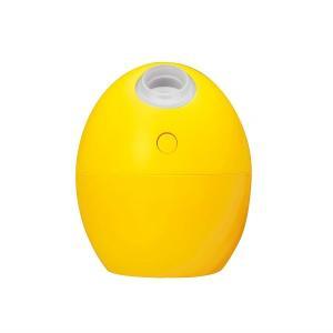 アウトレット 加湿器 卓上 USB 超音波式 たまご形 パプリカ(イエロー) GH-UMSEG-YE グリーンハウス|greenhouse-store