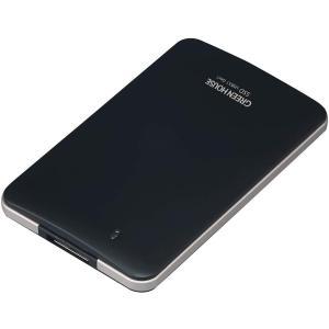 ポータブルSSD USB3.1 Gen1対応 小型・軽量 耐衝撃・耐振動 480GB GH-SSDU3C480 グリーンハウス greenhouse-store