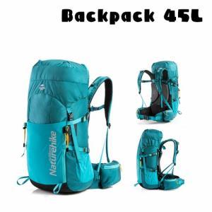 バックパック 登山 リュック 大容量 45L 旅行 リュックサック 登山用リュック 防災 遠足 アウ...