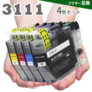 プリンターインク LC3111 4色セット LC3111-4PK LC3111BK LC3111C LC3111M LC3111Y ンクカートリッジ|greenlabel