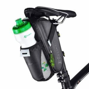 サドルバッグ ナイロン防水 シートポストバッグ ボトルバッグ greenlabel