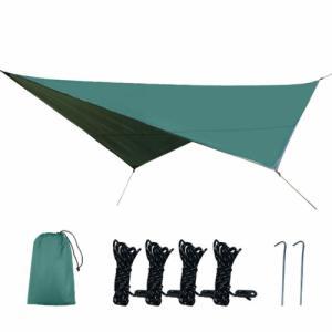 タープ 天幕 シェード 防水軽量  グランドシート キャンプ テント ピクニック マット シート フ...