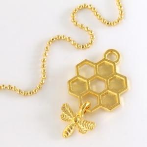【チャーム】ゆらゆらミツバチ 《ゴールド 》 [みつばち, ...