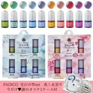 20%OFF 着色剤 2種セットでオマケ付き♪ 宝石の雫 クリアカラーセット 兆し&実り レジン液 ...