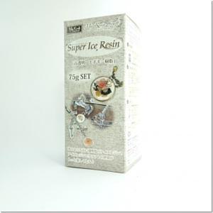 ★【2液性レジン液】75g スーパーアイスレジン [クリスタルレジン,エポキシ樹脂]