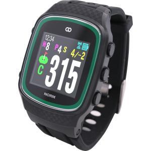 GPS ゴルフナビ 距離計 カラー画面 誤差1mの高精度 グリーンオン ザ・ゴルフウォッチ ノルム (GreenOn THE GOLF WATCH NORM)