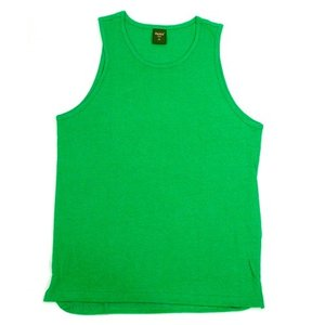 Phatee (ファッティー) HEALTHY TANK TOP ヘンプコットン タンクトップ / GREEN|greenplanet