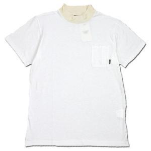 Phatee (ファッティー) MOC TEE ヘンプコットン モックネック Tシャツ / WHITE|greenplanet