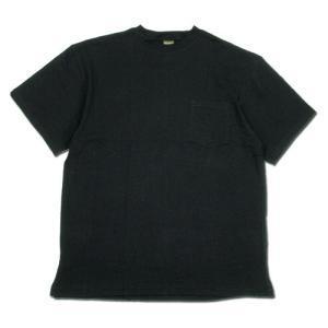 Phatee (ファッティー) NEW SLOPPY TEE ヘンプコットン ワイドボディ 半袖 ポケットTシャツ / BLACK|greenplanet
