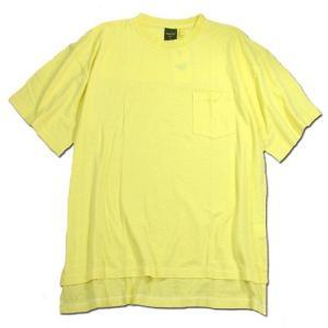 Phatee (ファッティー) SLOPPY TEE POCKET ヘンプコットン Tシャツ / LEMON|greenplanet